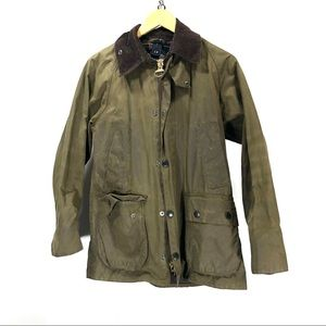 Barbour waxed jacket bedale size 32 XS